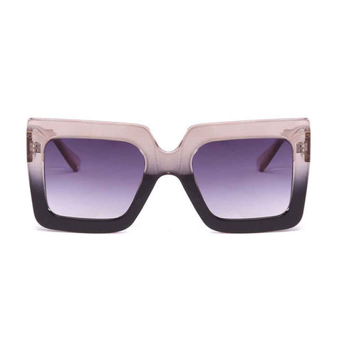 Translucent Inky Coffee Sunglasses - Ferosh