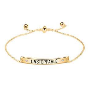 Ferosh Unstoppable Golden Bracelet