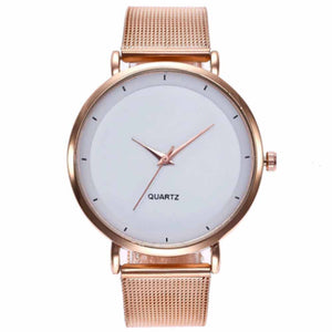 Lola Golden-White Glam Watch - Ferosh