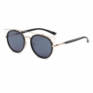 Vanessa Black Golden Tinted Sunglasses - Ferosh