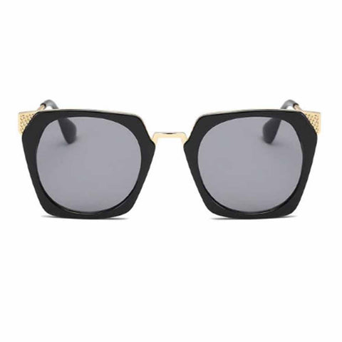 Victor Winged Black Sunglasses - Ferosh