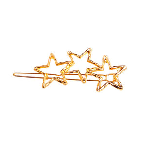 Zornitsa Golden Tri-Star Hair Pin - Ferosh