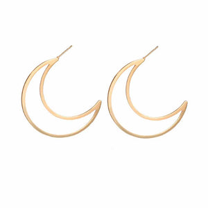 Ferosh Zariah Hoop-in-Hoop Silver Earrings