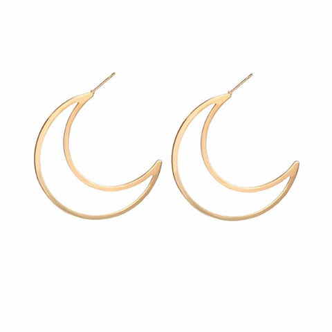 Zariah Hoop-in-Hoop Silver Earrings - Ferosh