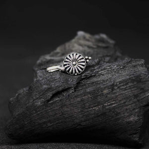 Ferosh Body Jewellery Vintage Dome Oxidised Nose Pin