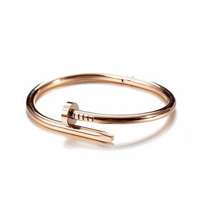 Rosegold Nail Bangle - Ferosh