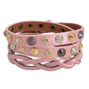 Rosy leather wrap - Ferosh
