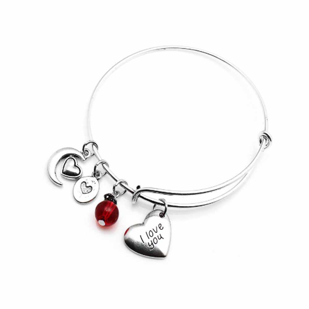 Ferosh Bracelets The Red Cara Charm Bracelet