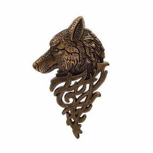 Ferosh Brooches & Lapel pins Wolf Brooch