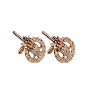 Ferosh Cufflinks Golden King's Cufflink