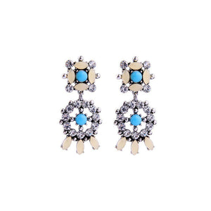 Blue Spark Earrings - Ferosh
