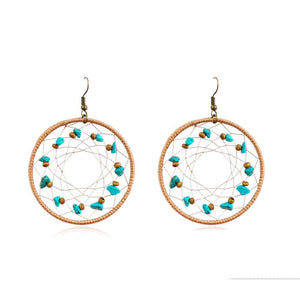 Elvinia Beaded Earrings - Ferosh