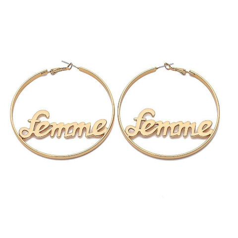 Ferosh Earrings Femme Hoop Earrings