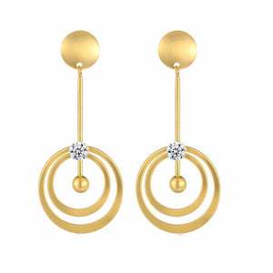 Ferosh Earrings Idai Golden Drop Earrings