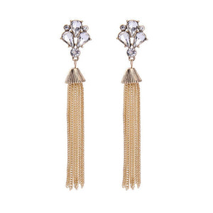 Long Chained Earrings - Ferosh