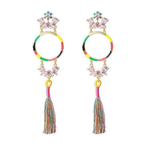 Peppy Extended Earrings - Ferosh