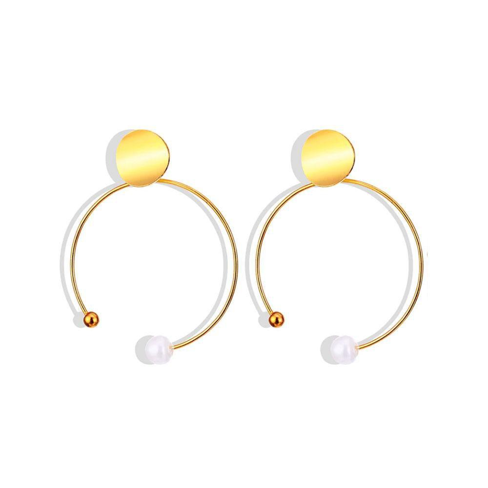 Ferosh Earrings Semi Hoop Earrings