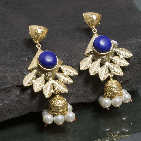 Swarnim Petal Indo-Western Earrings - Ferosh