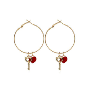 Valentina Hoop Earrings - Ferosh