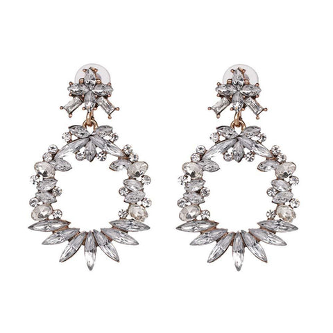 Zinariya Embellished Earrings - Ferosh