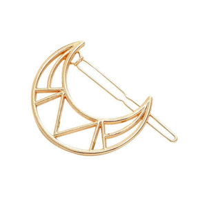 Portia Gold Moonlight Hair Pin - Ferosh