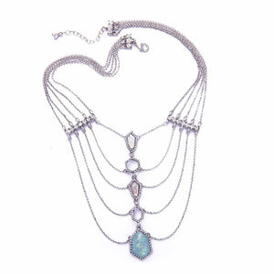 Layered Allira Neckpiece - Ferosh