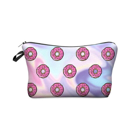 Ferosh Makeup Pouch Inviting Donuts makeup pouch