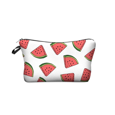 Summertide watermelon Makeup Pouch - Ferosh