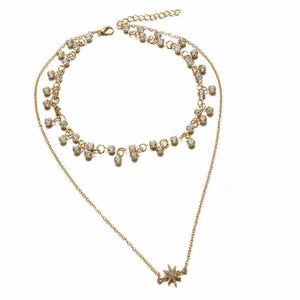Ferosh Necklace Finneen Choker Layered Necklace