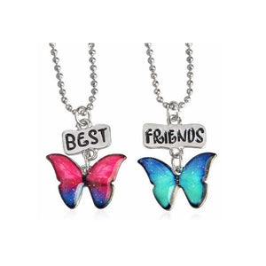 Ferosh Pendant Necklace Butterfly pendants