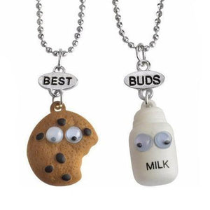 Ferosh Pendant Necklace Cookie&Milk Pendants