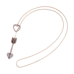Ferosh Pendant Necklace Love Arrow Necklace