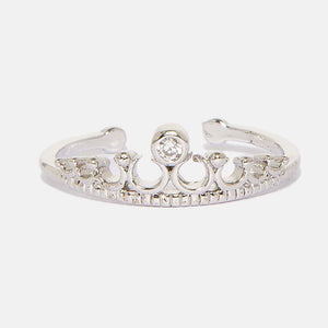 Ferosh Ring One Size Crowned Tiana Ring