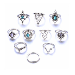 Ethnic Hollow Ringset - Ferosh