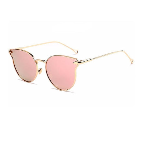 Ferosh Sunglasses Oversized Rosegold Sunglasses