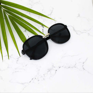 Sunny Afternoon Black Sunglasses - Ferosh