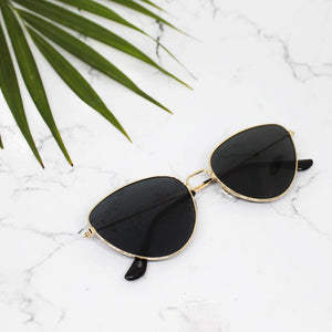 Ferosh Sunglasses Vogue Black-Gold Aviators
