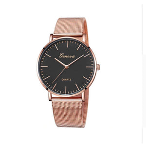 Ferosh Watches Designer Bronze-Gold Watch