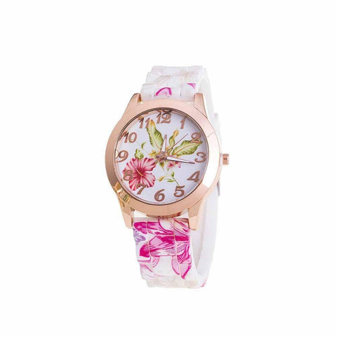Floral Blush Watch - Ferosh