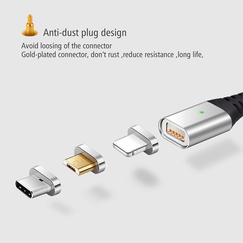 magnetic charging cable 3 in 1
