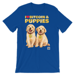 T-Shirt - Bitcoin & Puppies