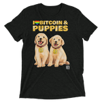 I Love Bitcoin & Puppies Shirt