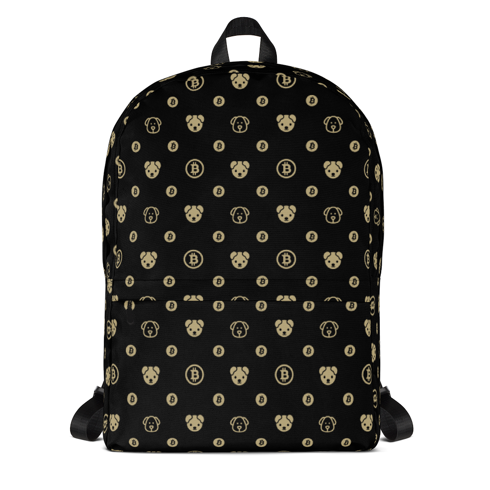 Backpack - Black & Yellow