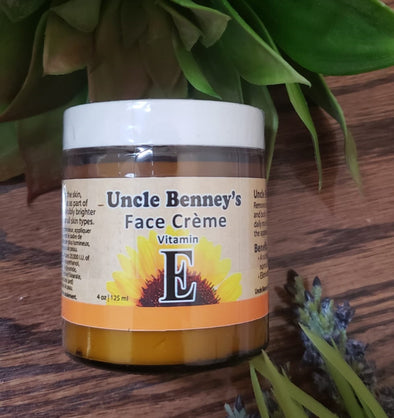 Uncle Benney's Vitamin E Face Crème 4oz/125ml