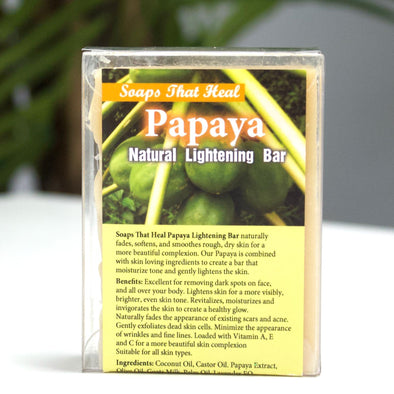Papaya Natural Lightening Bar - Lavish & Lovely