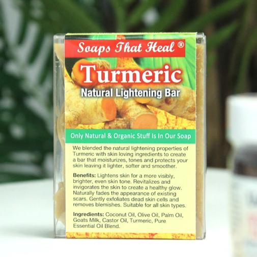 Turmeric Natural Lightening Bar - Lavish & Lovely