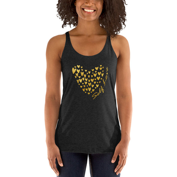 Self Love Women's Racerback Tank