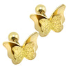 Butterfly Earrings Rose Gold Stainless Steel Studs - Lavish & Lovely