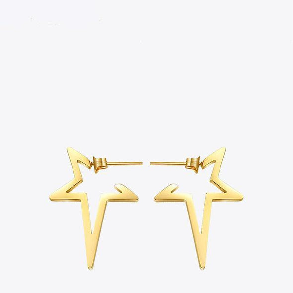 Your a Star Stainless Steel Stud  Earrings - Lavish & Lovely