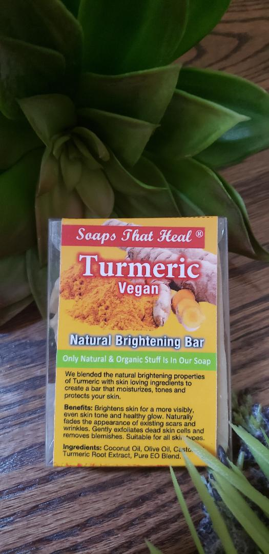 Turmeric Vegan Natural Brightening Bar